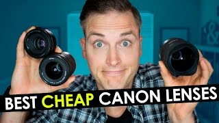 Best Canon Lens for Video — Top 3 Cheap Canon Lenses for YouTube