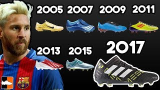 Leo Messi's New Boots & EVERY Cleat He Has Worn Ever!!