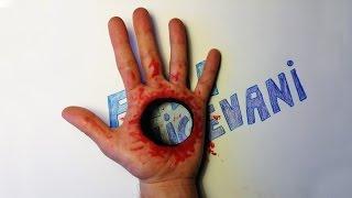 getlinkyoutube.com-Como Dibujar un Agujero con Sangre en mi Mano!