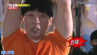 getlinkyoutube.com-[ENG SUB] Running Man Yoo Jae Suk Loses His Shorts Funny Moment