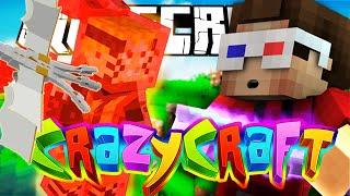 getlinkyoutube.com-Minecraft Crazy Craft - 9 KUYRUKLU KORKUNÇ KYUUBİ ve LANETLİ EJDERHA! : Bölüm 3
