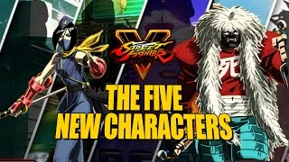 getlinkyoutube.com-WHO ARE THE 5 NEW CHARACTERS?! Everything We Know About Street Fighter 5 Season 2