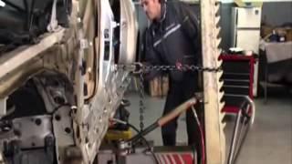 getlinkyoutube.com-Reparación de golpe lateral en BMW E60 por wayat