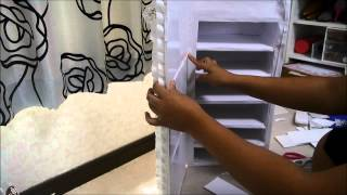 getlinkyoutube.com-Manualidades: Organizador con espejo - Juancarlos960