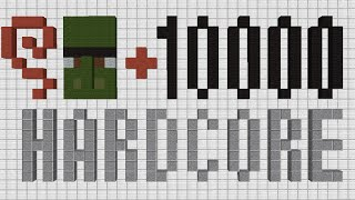 getlinkyoutube.com-Minecraft ワールド生成から1時間で村人ゾンビを治療できるかやってみた!【ハードコア】
