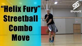 "getlinkyoutube.com-Helix Fury Combo Move! ""Streetball Handles Tutorial"" - Killer Crossover Ankle Breaker Best All Time"