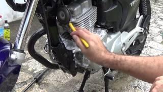 getlinkyoutube.com-Como Lavar o Motor de sua Moto  Qual Produto Domestico Posso Utilizar?