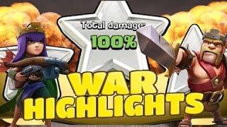 getlinkyoutube.com-Clash of Clans BANG HOI WAR CLAN HIGHLIGHTS 23.07.2016