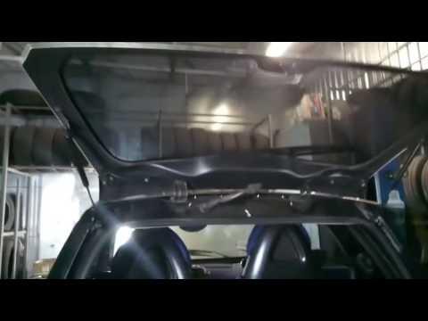 Smart 450 амортизаторы стекла багажника