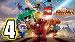 getlinkyoutube.com-LEGO Marvel Super Heroes Walkthrough PART 4 [PS3] Lets Play Gameplay TRUE-HD QUALITY