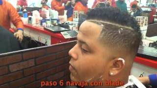 getlinkyoutube.com-tutorial de barberia estilo new york skin fade con blade