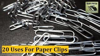 getlinkyoutube.com-20 Paper Clip Hacks for Survival & Everyday Uses