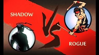 getlinkyoutube.com-Shadow Fight 2 ACT 2 Hermit : TOURNAMENT 5/24 Shadow VS Rogue Super Fight