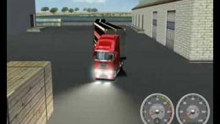 getlinkyoutube.com-How to reverse b-double (18 wheels of steel haulin)