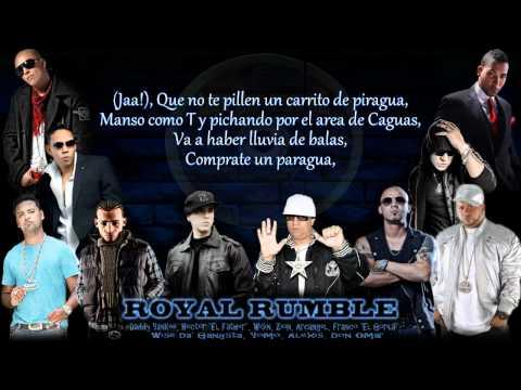 the royal rumble de zion Letra y Video