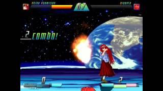 getlinkyoutube.com-MUGEN: Akiha Vermillion (me) vs. Giganta