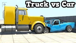 getlinkyoutube.com-BeamNG Drive - Trucks Crushing Cars