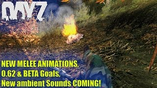 DayZ Standalone: NEW MELEE Animations, .62 & BETA Goals, New Ambient Sounds! (Upcoming Updates)