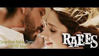 Mere Rashke Qamar Official   RAEES VIDEO SONG   Shah Rukh Khan   Mahira Khan