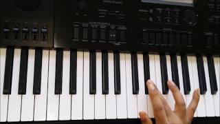 Aisi Deewangi Tera Naam Rakh Diya - Piano Tutorial - Deewana HD