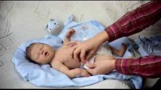getlinkyoutube.com-Silicone Baby Doll Hugo 3 by MYA BABIES