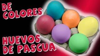 getlinkyoutube.com-Como Pintar Huevos de Pascua *How to Easter Eggs* Hacer Huevos de Pascua Pintura Facil Para Ti
