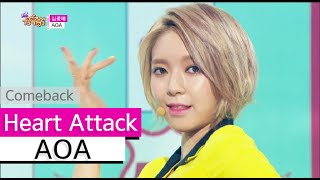 getlinkyoutube.com-[Comeback Stage] AOA - Heart Attack, 에이오에이 - 심쿵해, Show Music core 20150627