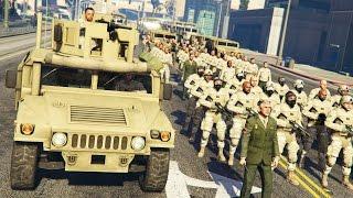 getlinkyoutube.com-GTA 5 PLAY AS A COP MOD - MILITARY TAKEOVER!! MARTIAL LAW Army Police Patrol!! (GTA 5 Mods Gameplay)