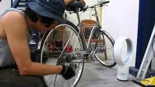 getlinkyoutube.com-จักรยาน เก่าคุณภาพดี เลยถอดทำสี