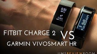 Fitbit Charge 2 vs Garmin VivoSmart HR - COMPARISON