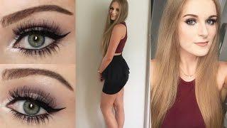 getlinkyoutube.com-CLUBBING GRWM - Makeup & Outfit!