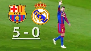 getlinkyoutube.com-Barcelona vs Real Madrid  (5-0)