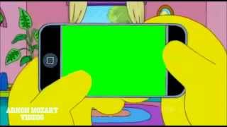 getlinkyoutube.com-green screen of the simpsons free / tela verde do os simpsons