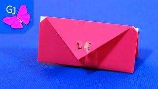 getlinkyoutube.com-Оригами кошелек