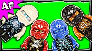 Lego Ninjago AIRJITZU Minifigures 2015 Complete Collection