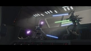 getlinkyoutube.com-Star Wars: The Clone Wars - Obi-Wan Kenobi vs. General Grievous [1080p]
