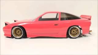 getlinkyoutube.com-eac RC Body Build -- Nissan 180SX Silvia