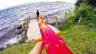 getlinkyoutube.com-Nerf War: First Person Shooter