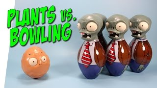 getlinkyoutube.com-Plants vs Zombies Wall-nut Bowling Set from Jazwares
