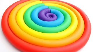 getlinkyoutube.com-Learn Colors Play Doh Ice Cream Popsicles DIY Play Doh Compilation Modelling Clay Mighty Toys