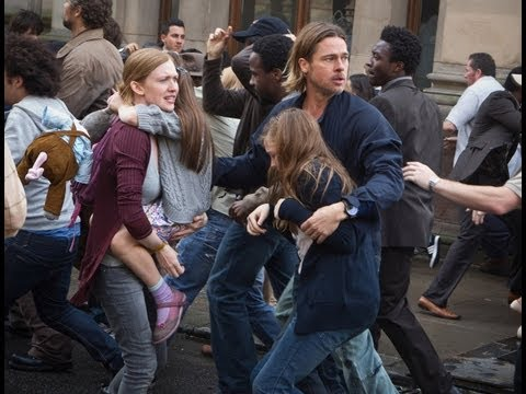 World War Z Official Movie Spot: Getting Out mozi, előzetes