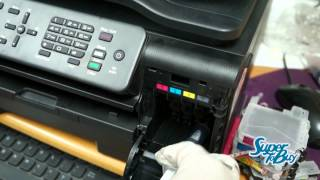 getlinkyoutube.com-Brother Printer Unclogging Printhead
