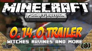 getlinkyoutube.com-Minecraft Pocket Edition 0.14.0 TRAILER! - Witches, Ravines, & More! | MCPE Conceptual Gameplay