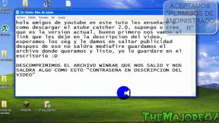 descargar atube catcher full+mediafire