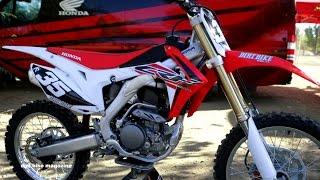 getlinkyoutube.com-2017 Honda CRF 250 - Dirt Bike Magazine