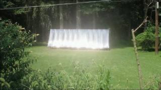 getlinkyoutube.com-Big, 24' X 8' Solar Collector Using PEX Tubing - Step by Step How to Build