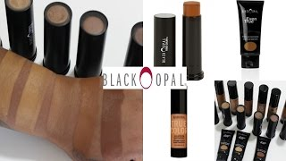 getlinkyoutube.com-BLACK OPAL FOUNDATION! 3 DIFFERENT FORMULAS! SWATCHES & REVIEW! (BOMB)