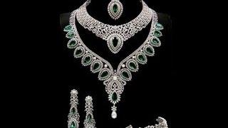 getlinkyoutube.com-Diamond necklace designs