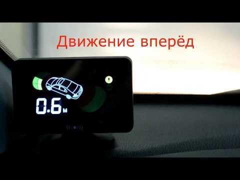 Парктроник AAALINE LCD-18 видео,фото