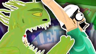 getlinkyoutube.com-SWAMP MONSTER ATTACK!! | Happy Wheels